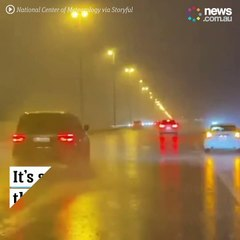 Officials in Dubai are using drones to artificially increase rainfall