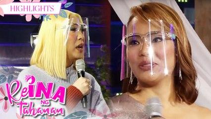 ReiNanay Hangileca gets emotional at Vice Ganda's question | It's Showtime Reina Ng Tahanan