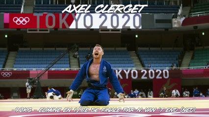 Jeux olympiques Tokyo 2021 - Axel Clerget : « J'ai donné 100% de ce que j'avais aujourd'hui »