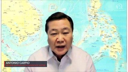 Carpio refutes Duterte: Hague tribunal heard China's position