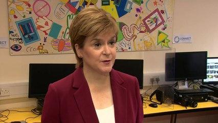 Nicola Sturgeon urges 'careful and cautious' Covid travel