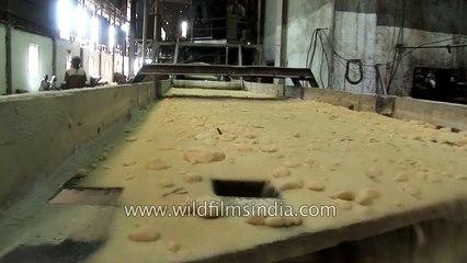 Sugar factory in India