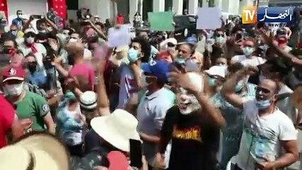تونس: قيس سعيد يحشد نقابات الشغل و القضاء ..رسائل طمانة لتفادي الانسداد