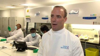 Raab: UK vaccine donation a 'lifesaving force for good'