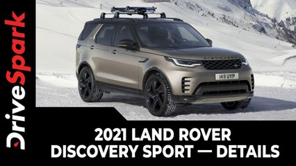 2021 Land Rover Discovery Sport In India | All You Need To Know