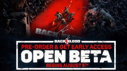 Back 4 Blood - Open Beta Xbox Trailer (2021)