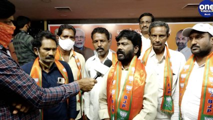 The influx of people into the Bharatiya Janata Party continues In Telangana
