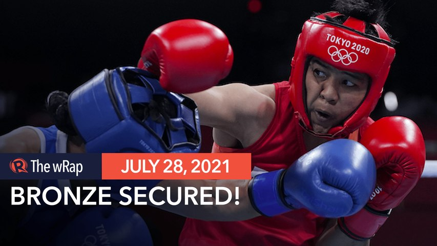 Nesthy Petecio punches way to Olympic boxing medal round