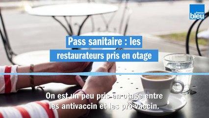 Pass sanitaire : les restaurateurs se sentent pris en otage