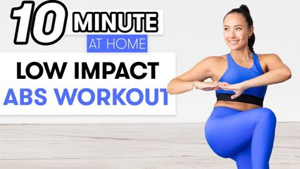 10-Minute Low-Impact Abs Workout