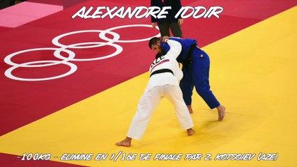 Jeux olympiques Tokyo 2021 – Alexandre Iddir : « Le profil qui annihile mon judo »
