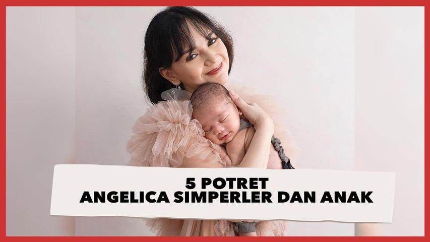 5 Potret Angelica Simperler dan Baby Nara