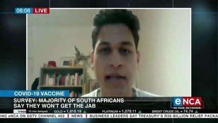 'Majority of SAs won't get the jab'