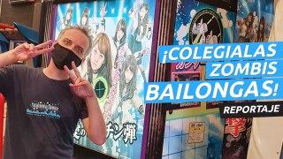 Sailor Zombie AKB48, la recreativa con colegialas zombies bailongas