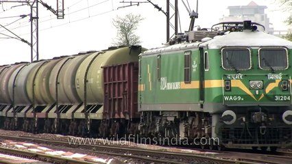 Dedicated freight train service of Indian railways for oil transportation