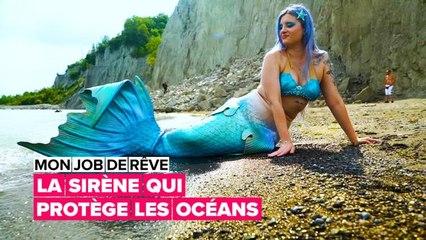 La sirène qui veut protéger l'océan
