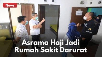 PEMPROV RIAU UBAH ASRAMA HAJI JADI RUMAH SAKIT DARURAT !!
