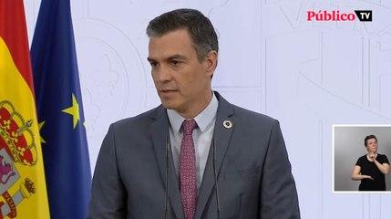 """Pedro Sánchez: """"España tiene la medalla de oro en vacunación"""""""