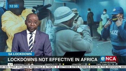 Lockdowns not effective in Africa