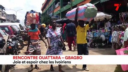 Rencontre Ouattara - Gbagbo : joie et espoir chez les Ivoiriens