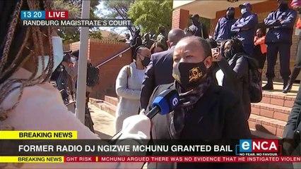 Former radio dj Mchunu granted bail