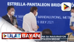 Pres. Duterte, nanguna sa inagurasyon ng Estrella-Pantaleon bridge; P1.46-B, inilaan sa naturang proyekto