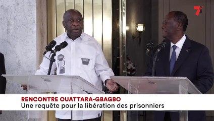 Rencontre Ouattara- Gbagbo une requete pour la libération des prisonniers