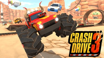 Crash Drive 3 I Release Trailer (2021)