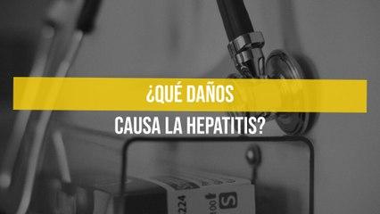 ¿Qué daños causa la hepatitis?