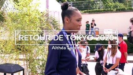 RETOUR DE TOKYO : Althé Laurin, Médaille de Bronze !