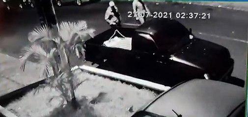 Banda delincuencial aprovecha la oscuridad de la madrugada para robar vehículos