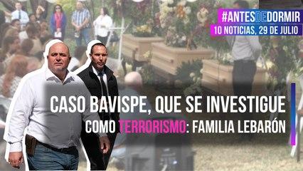 Caso Bavispe, que se investigue como terrorismo: Familia LeBarón