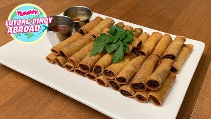 Easy Lumpia Recipe   Lutong Pinoy Abroad - Northern California   Yummy PH