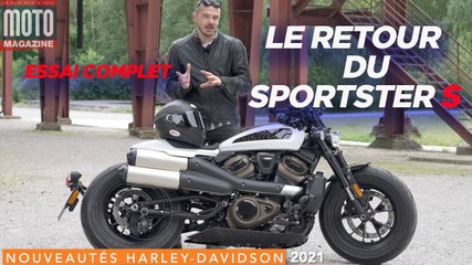 Le retour attendu du Harley Davidson Sportster S - Essai Moto Magazine