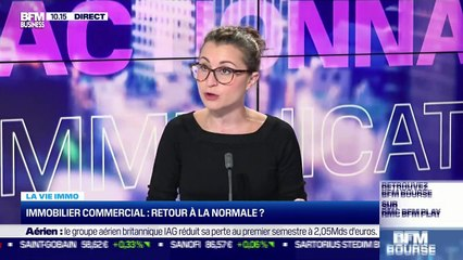 Marie Coeurderoy: Retour à la normale dans l'immobilier commercial - 30/07