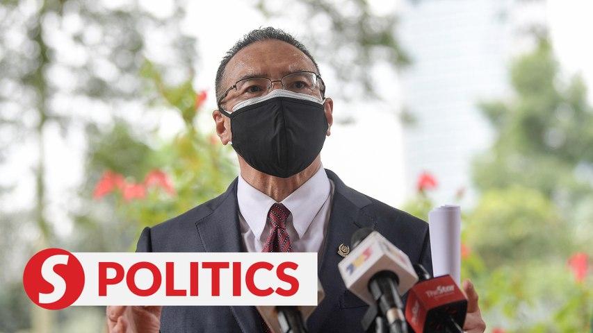 BN, Umno MPs back Perikatan govt, says Hisham