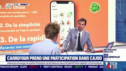 Henri Capoul (Cajoo) : Carrefour prend une participation dans Cajoo - 30/07