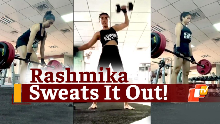 Watch: Rashmika Mandanna Goes All Out With Serious Strength Workouts!