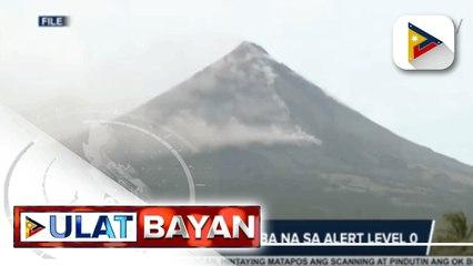 Bulkang Mayon, ibinaba na sa alert level 0; Bacoor, isinailalim sa GCQ with heightened restrictions hanggang agosto 15 dahil sa pagsipa ng COVID-19 cases; P20-M pondo, ilalaan sa barangay dev't program para sa seguridad ng mga barangay vs. komunistang gru