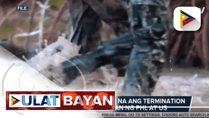 Pres. Duterte, binawi na ang termination ng VFA sa pagitan ng PHL at US