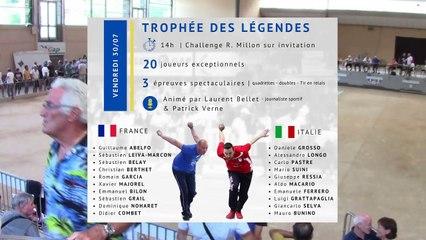 Sport-Boules Lyonnaise à Gap : France / Italie, le Trophée des Légendes