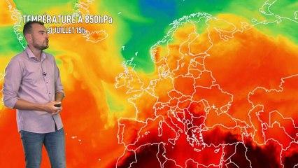 Illustration de l'actualité La météo de votre lundi 2 août 2021