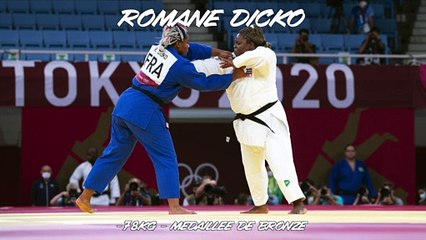Jeux olympiques Tokyo 2021 - Romane Dicko : « Je suis allée la chercher »
