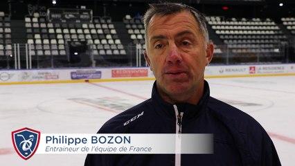 EDF à l'Aren'Ice. Interview de Philippe Bozon