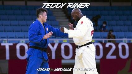 Jeux olympiques Tokyo 2021 – Teddy Riner : « La médaille du courage et de la fierté »