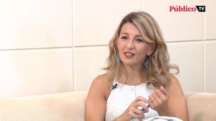 Yolanda Díaz, sobre la subida del SMI