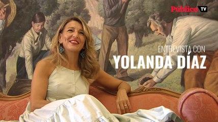 Entrevista a Yolanda Díaz