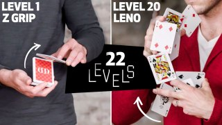 22 Levels of Cardistry Easy to Complex