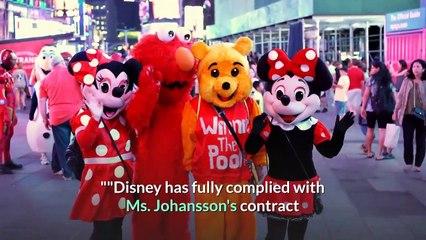 Scarlett Johansson is suing Disney over 'Black Widow' Disney release