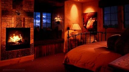 Stormy night | Relaxing bedroom